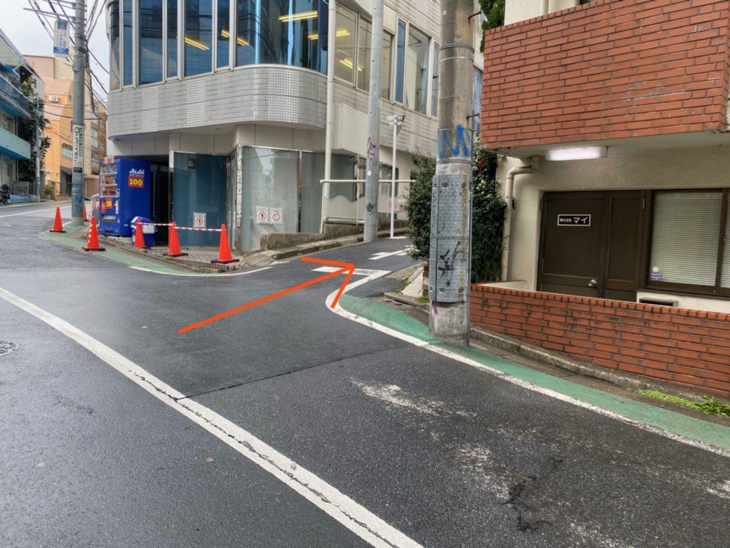 JR渋谷西口からのアクセス