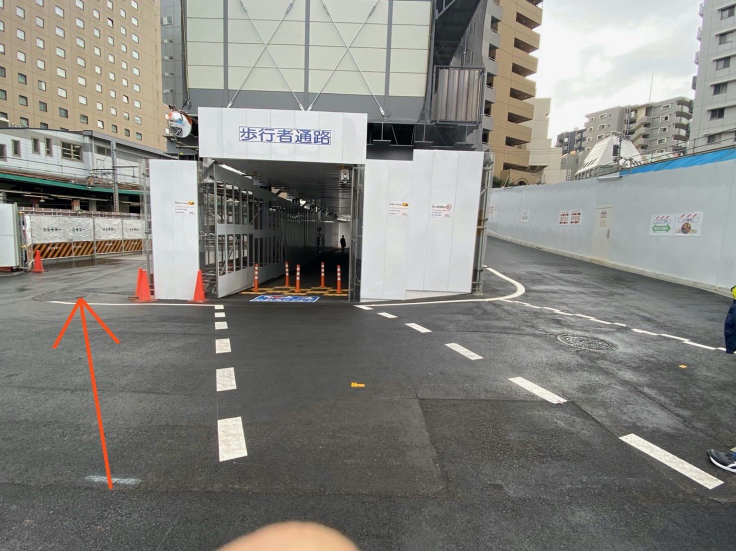東急ヒカリエ方面からのアクセス